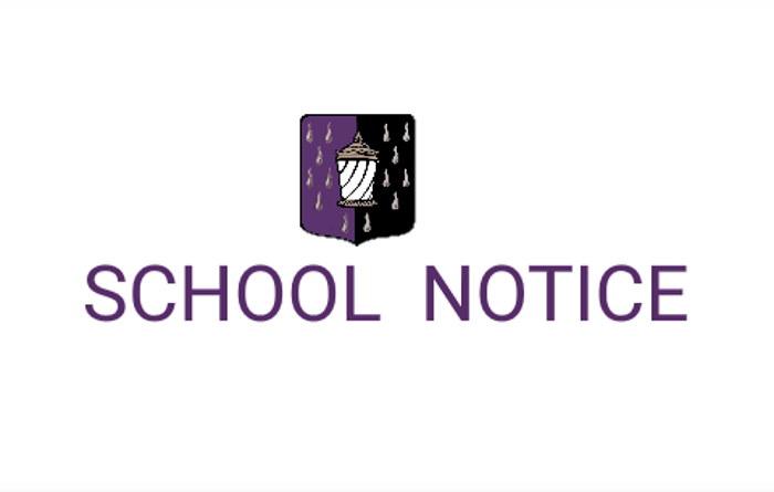 19th March 2020 – SCHOOL CLOSURE