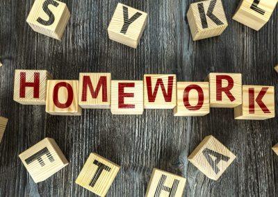 Homework 3 (Thursday 15th October)