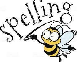 Spellings Week Beginning 19th October