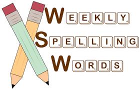 Spellings WB 7th December