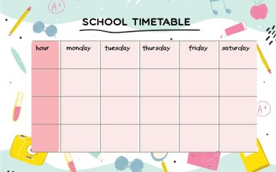 Year 5 Lockdown Timetable