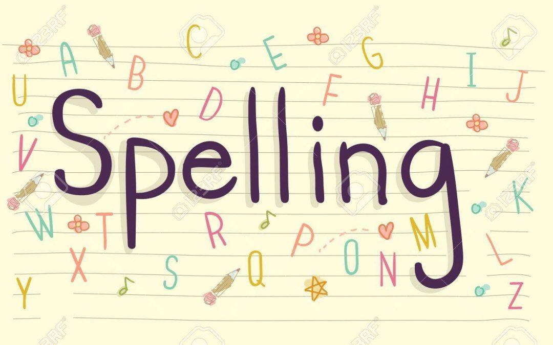 Spellings summer 2