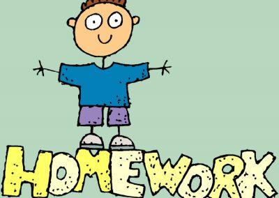 Year 3 Homework Friday 8th October 2021